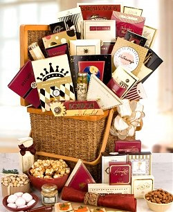 Gift Basket with Chocolate
